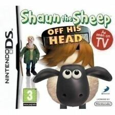 SHAUN THE SHEEP OFF HIS HEAD DS