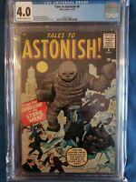 Tales to Astonish #6 CGC GRADED 4.0 - Stone Men prototype Atlas Comics (1959)