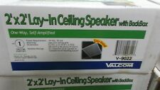 Valcom V-9022 2 x 2 Lay In Speaker-One Way