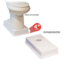 Medway Standard Toilet Riser - Raises your standard toilet 4 inches