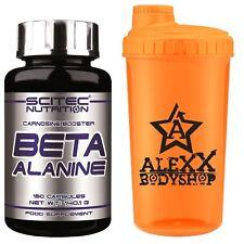 Scitec Nutrition Beta Alanine 150 Kaps. Beta-Alanin 4000mg Trainigsbooster Shake