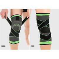 3D Adjustable Strap Elastic Brace Knee Support Compression Sports Protect Pad