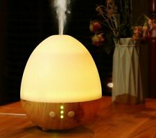 Electric Ultrasonic Air Humidifier Rooms Car Oval Shaped Essential Oil Diffusers