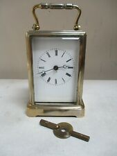 A beautiful rare Brevets Carriage Clock from the 1850s. One Piece case.