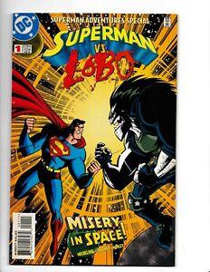 SUPERMAN ADVENTURES SPECIAL#1  1998 VS LOBO DC COMICS