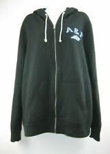 Abercrombie & Fitch Hoodie Full Zip Black Size XL