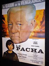 LE PACHA ! jean gabin dany carrel   affiche cinema  1968