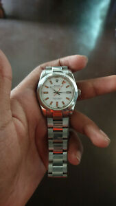 Rolex Milgauss Automatic Steel Mens Watch Oyster Perpetual