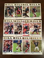 2004 Topps BUFFALO BILLS Complete Team set (12) GOLD COLLECTION RARE !