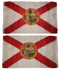 3x5 Florida Double Sided 2 ply Sewn Super Polyester Flag 3'x5' House Banner