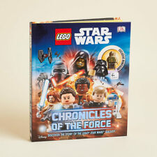 LEGO Star Wars: Chronicles of the Force Hardcover With Exclusive Mini Figure