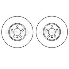 A PAIR OF BORG & BECK FRONT BRAKE DISCS FITS SEAT LEON 1999-2006 1J0615301K