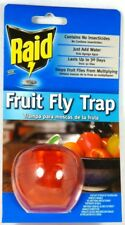 FFTA-RAID RAID Apple Fruit Fly Trap, No insecticides, Just add Water and Soap