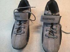 Shimano SH-MT40 Cycling Shoes Mountain Biking Preowned Men's 11.5. Gray Grey