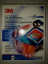 3M CG3460 Transparency Film 50 sheets New