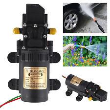 12V 5L/min Pressure Diaphragm Water Pump For RV Caravan Boat Garden 100PSI UK