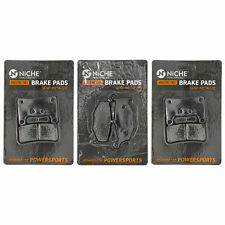 Front Organic Brake Pads 2012-2014 Suzuki GSX-R1000 Set Full Kit L2 L3 L4 wy