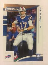 JOSH ALLEN 2018 PANINI ROOKIES AND STARS RC BUFFALO BILLS