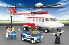 Privat Hubschrauber - Sluban Klemmbausteine Bauernhof 259 Teile & 3 Minifiguren