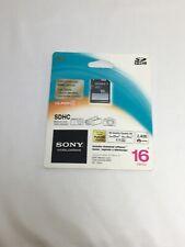 Sony SF16N4/QJ 16GB SDHC Class 4 SD Card