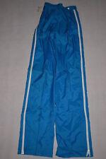 Klepper pluie pantalon brillant nylon shiny rain pant trouser bleu 90er vintage 36 NEUF