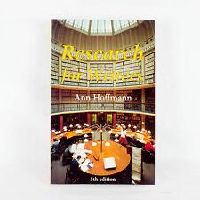 Research Para Writers por Ann Hoffmann