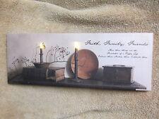 Faith Family Friends Foundation Lighted Canvas Wall Decor Sign Billy Jacobs