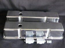 VALVE COVERS TALL CAST ALUMINIUM SMALL BLOCK CHEVROLET NOT MADE IN CHINA