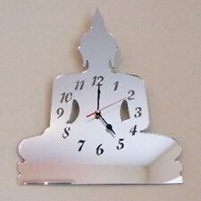 Buddha Clock - Acrylic Mirror (Several Sizes Available)