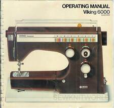 6440 Operating & Sewing Manuals Manual PDF format on CD