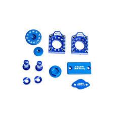 Tusk Billet Bling Kit Blue Yamaha WR250F WR450F