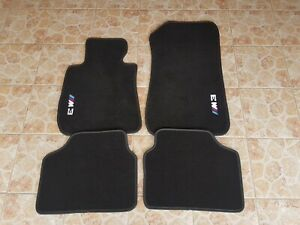 Floor mats bmw e90 M3 logo m3