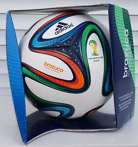 neu adidas matchball brazuca fifa wm 2014 soccer football ballon futbol pallone