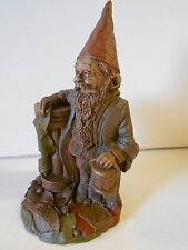 """Nos Vtg Tom Clark Gnome """"Father Time"""" '84, Ed #76, Leaning on Hour Glass"""