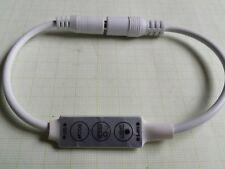 12V (9-24V) RGB LED Dimmer 25W max. programmierbare PWM Helligkeit & Blinkmuster