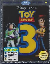 Toy Story 3 (Blu-ray/DVD, 2011, 5-Disc Set, Includes Digital Copy 3D)