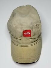 The North Face Painters Strapback Cap Hat Brown And Red