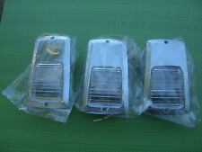 Avion Aluminum Travel Trailer Exterior Lights SET OF 3 1980s 30P 34W 34V 32S 28A