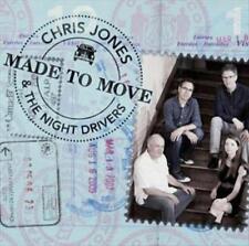 CHRIS JONES - MADE TO MOVE * NEW CD