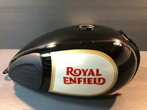 Genuine Royal Enfield Motorcycle OEM  Gas Tank Black Classic C5