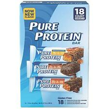 Pure Protein Bars 21g Protein Gluten Free - Pack of 18