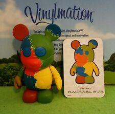 "Disney Vinylmation 3"" Park Set 2 Urban Rainbow Patches with Card"