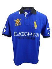 ***BIG & TALL*** 2XB**  Ralph Lauren Polo Men's S/S Blackwatch Mesh Polo Shirt