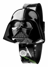 LICENSED Star Wars Darth Vader Kids Flip Top LCD Bambini Orologio con 2 cinghie