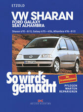 VW SHARAN 1995-2010 ALHAMBRA FORD GALAXY REPARATURANLEITUNG SO WIRDS GEMACHT 108