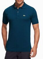 Lacoste Mens Shirt Blue Size 2XL (FR 7) Polo Classic Fit Cut Pique $89 #182