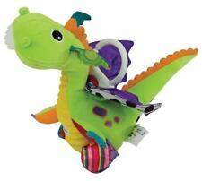Lamaze LC27565 Durable tissus dans six différentes textures Flip Flap Dragon Toy