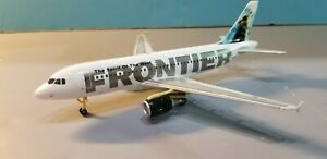 STARJETS 200 (SAMPLE PROTOTYPE MODEL) FRONTIER AIRLINES A319 1:200 SCALE MODEL