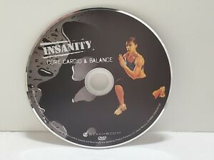 Insanity - Core Cardio Balance - DVD Home Fitness Workout Replacement Disc Only