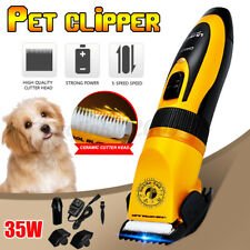 Professional Pet Cat Dog Clippers Grooming Kit Pet Hair Trimmer Electric Shaver